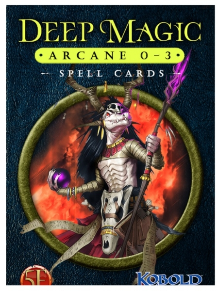Dungeons & Dragons RPG: Deep Magic Spell Cards - Arcane 0-3