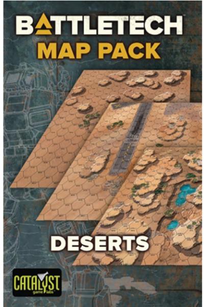 BattleTech: Map Pack - Deserts