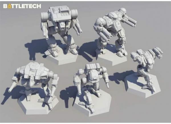 BattleTech: Miniature Force Pack - Clan Fire Star