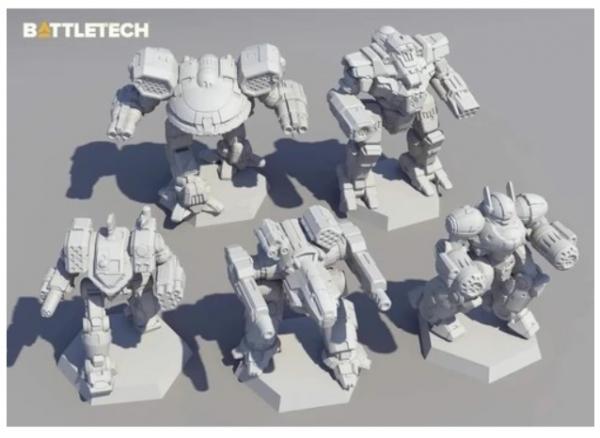 BattleTech: Miniature Force Pack - Heavy Battle Star