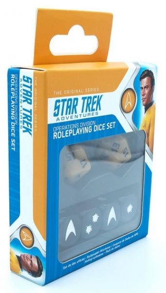 Star Trek Adventures RPG: Operations Division Dice Set (Revised)