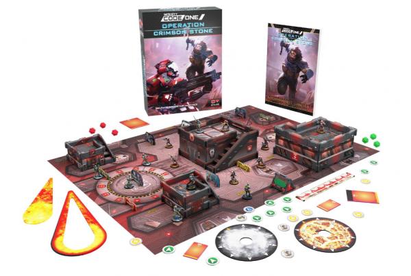 Infinity CodeOne: Operation Crimson Stone Battlebox