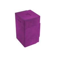 Gamegenic: Watchtower 100+ Card Convertible Deck Box - Purple