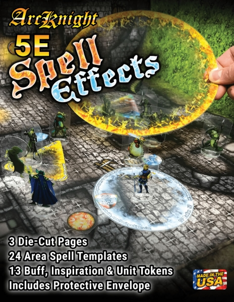 D&D 5th Edition RPG: Spell Effects