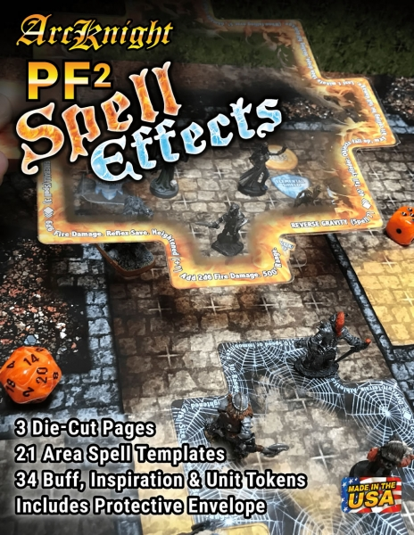 Pathfinder (P2) RPG: Spell Effects