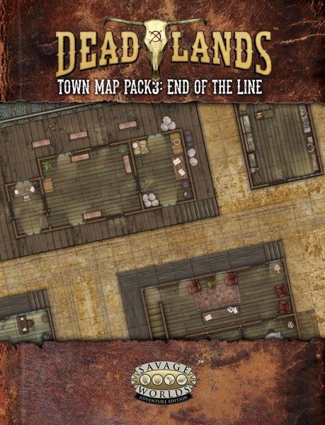 Deadlands RPG: Map Pack 3 - End of the Line