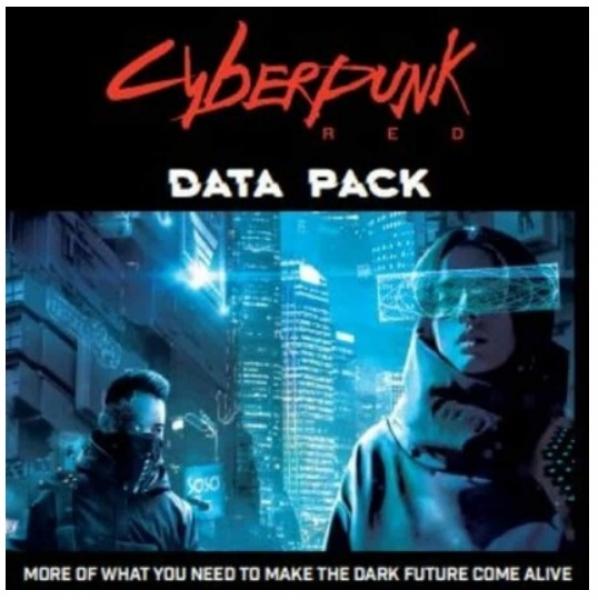 Cyberpunk Red RPG: Data Pack
