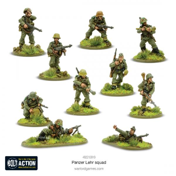 Bolt Action: German Panzer Lehr Squad