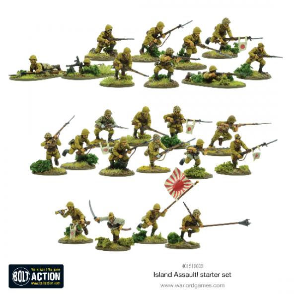 Bolt Action, 2nd Edition: Island Assault! Starter Set