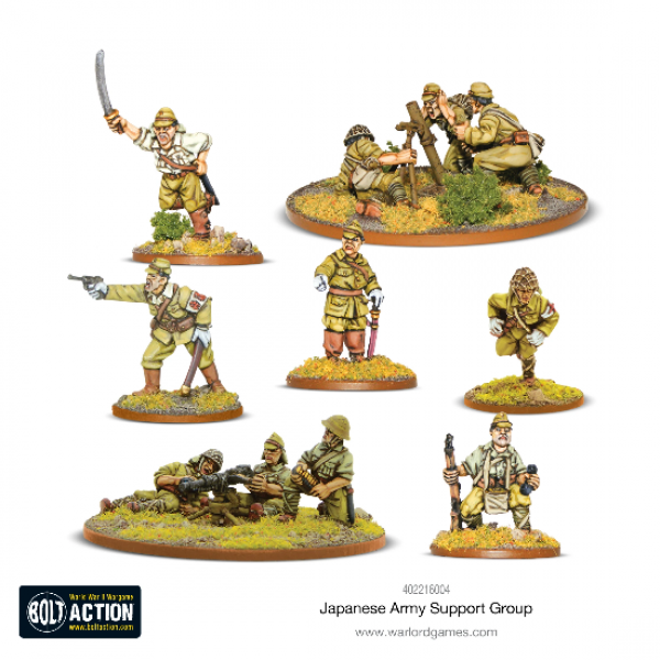 Bolt Action, 2nd Edition: Japanese Army Support Group