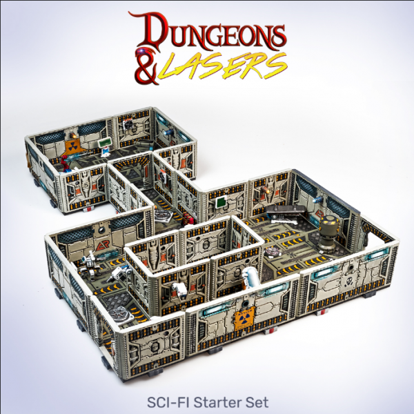 Dungeons & Lasers: Miniature Terrain Sci-Fi Starter Set