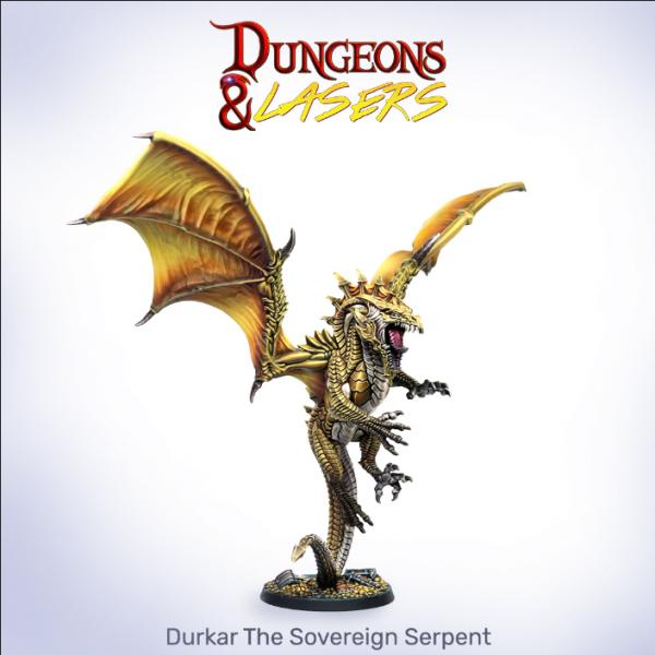 Dungeons & Lasers: Durkar The Sovereign Serpent