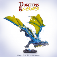 Dungeons & Lasers: Freyr The Stormbreaker