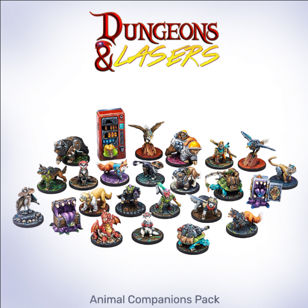 Dungeons & Lasers: Animal Companions