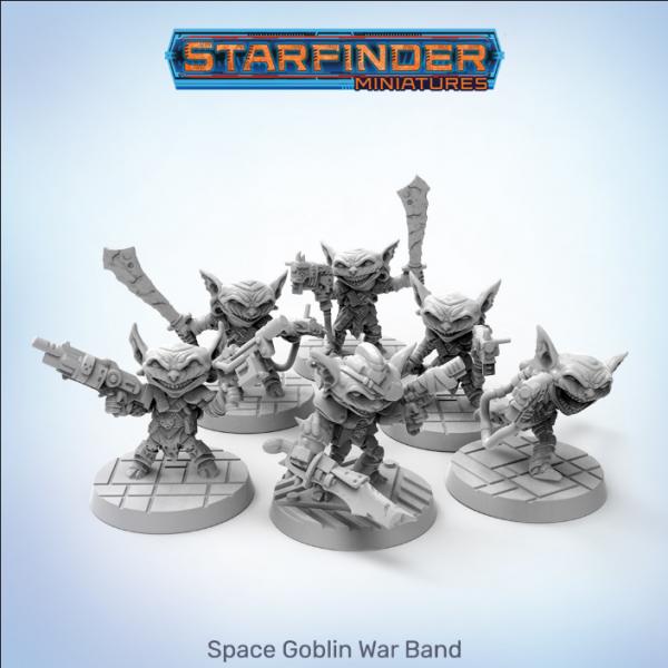 Starfinder: Space Goblins War Band