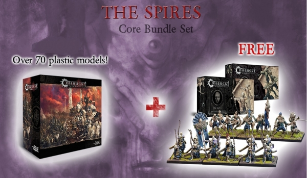 Conquest - Spires Bundle Deal: Core Box with Vanguard Clones and Marksman Clones