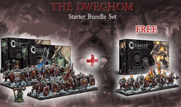 Conquest - Dweghom Starter Bundle Deal