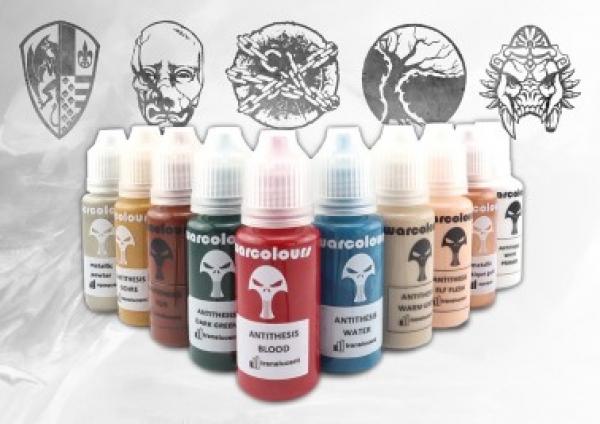 Conquest - All Faction Basepaints: WarColours Paint Set