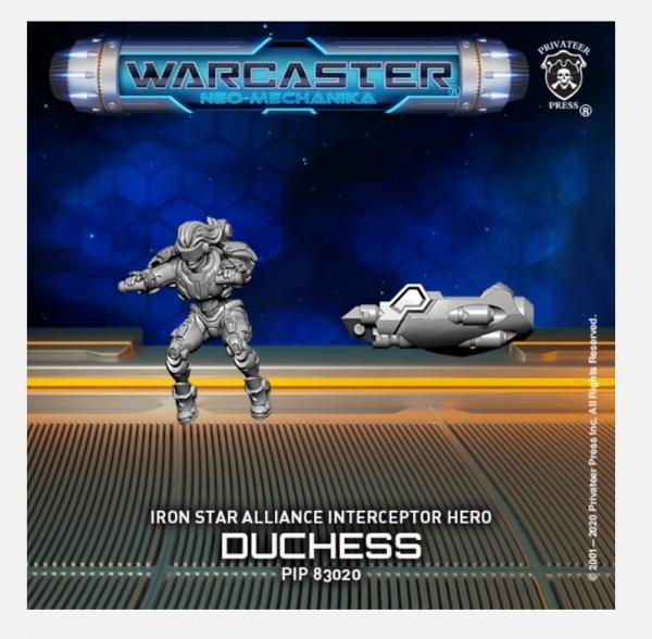Warcaster: Duchess (metal/resin)