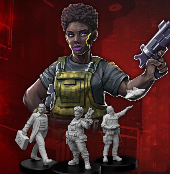 Cyberpunk Red RPG: Edgerunners G