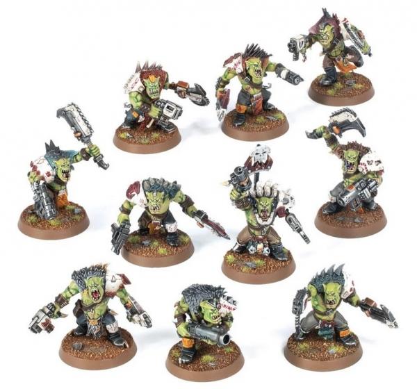 Warhammer 40K: Orks - Beast Snagga Boyz