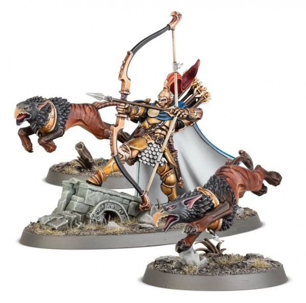 Age of Sigmar: Stormcast Eternals - Knight Judicator with Gryph Hounds