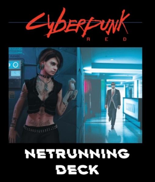 Cyberpunk Red RPG: Netrunning Deck
