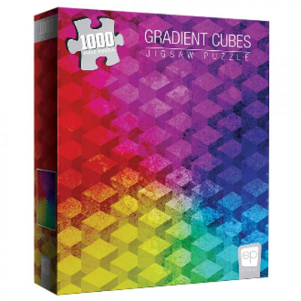 ''Gradient Cubes'' 1000 Piece Puzzle