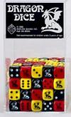 Koplow Special Icon Dice: Dragon Assorted Opaque 16mm d6 (1)