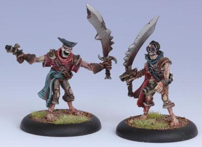 Warmachine: (Cryx) Revenant Pirate Crew (2)