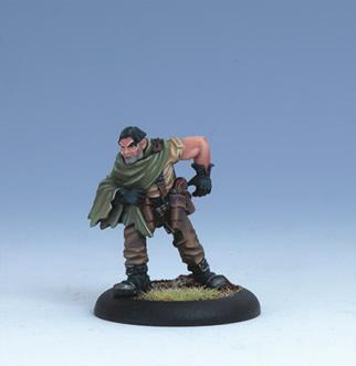 Iron Kingdoms Miniatures: Gajan Vasco, Ordic Adventurer