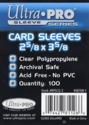 Ultra-Pro:  Clear Trading Card Soft/Penny Sleeves (100) (nt)