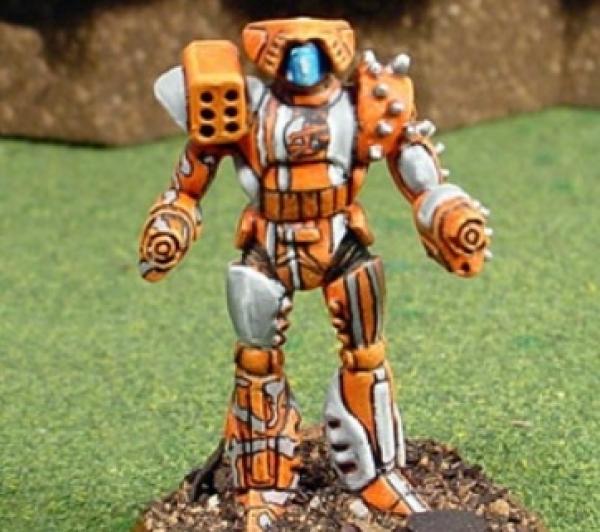 BattleTech Miniatures: Flashfire Mech (3055 Upgrade)