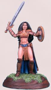 Chick In Chainmail #3, Female Fighter