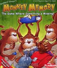 Monkey Memory Card Game