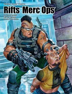 Rifts RPG: Merc Ops