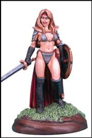 Chick In Chainmail #4, Female Fighter
