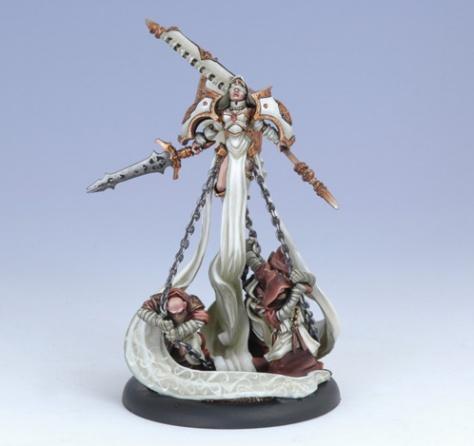 Warmachine (The Protectorate Of Menoth) Harbinger Of Menoth