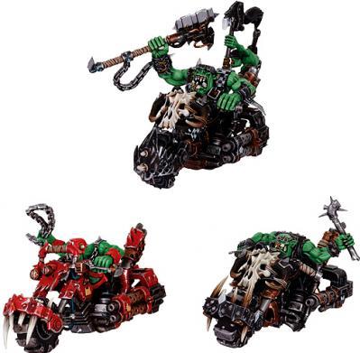Warhammer 40K: Ork Warbiker Mob Boxed Set