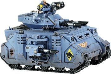 Warhammer 40K: Space Marine Predator Tank
