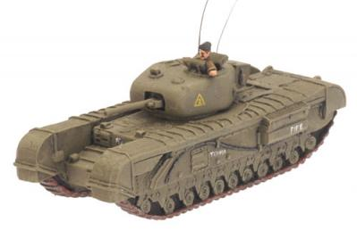 Flames of War: Churchill IV, V CS, VI