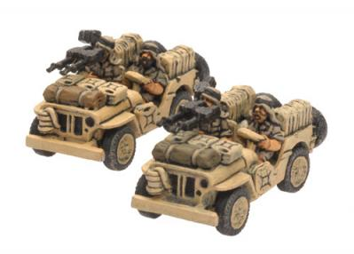 Flames of War: LRDG/SAS Jeep (x2)