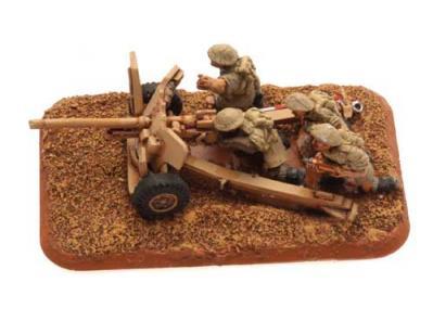 Flames of War: 6pdr gun (8th Army) (x2)