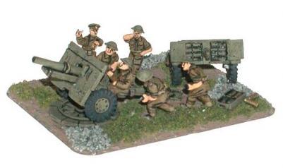 Flames of War: 25 pdr Gun (x2)