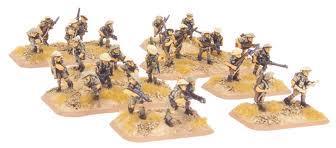 Flames of War: Motorised Platoon (8th Army)