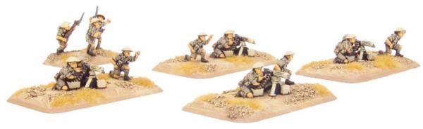 Flames of War: MG Platoon (8th Army)