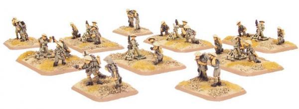 Flames of War: Mortar Platoon (8th Army)