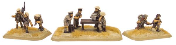 Flames of War: Artillery HQ (8th Army)