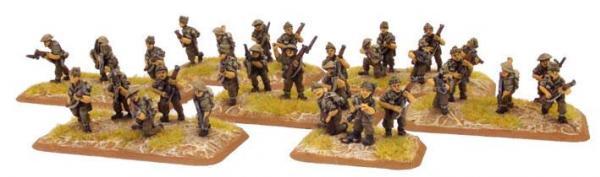 Flames of War: Brigadier Young & Commando Platoon