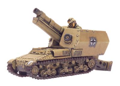 Flames of War: 15cm sFH auf Lorraine Schlepper